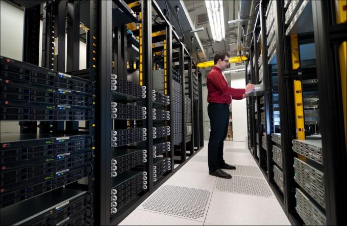 Así es un centro de datos por dentro