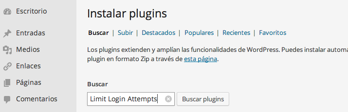 Seguridad WordPress 1