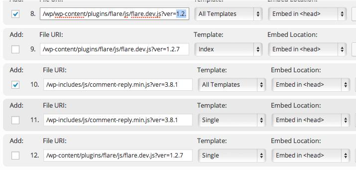 W3TC unificar archivos CSS y Javascript 3