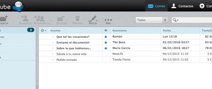 Webmail del correo basico